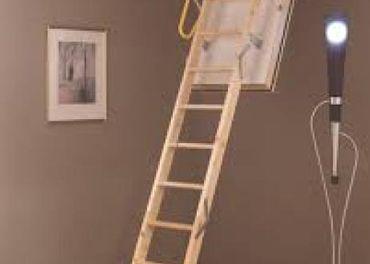 Podkrovné schody s hrúbkou izolácie 60 mm