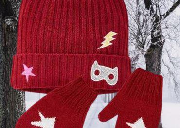 Dievčenská čiapka + rukavice, veľ.86-98