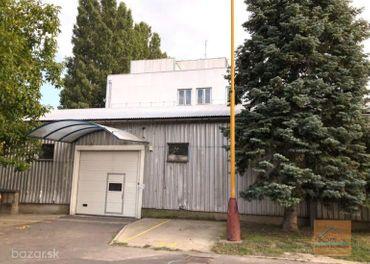 Predaj skladovo-výrobno-administratívnej budovy s úžitkovou plochou 980 m2, ul. Púchovská, BA III -