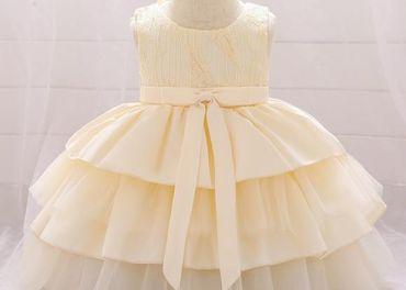 Detské šaty L1912XZ - naša 86, skladom