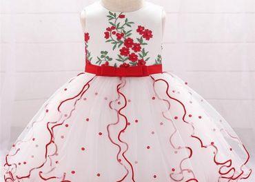 Detské šaty L1897XZ - naša 68, skladom