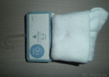 Ponožky, 2-3 roky