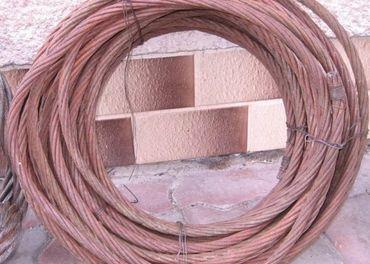 Predám oceľové lano 26m, ø 15 mm