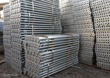 Pozinkovaná stropná podpera, debnenie 0,8-1,4 m