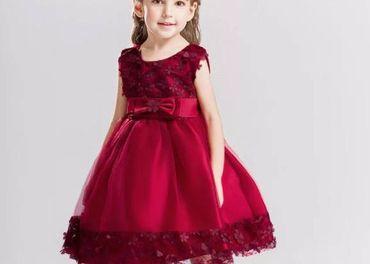 Detské šaty L314 - naša 92, skladom