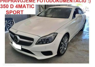 Mercedes-Benz CLS Shooting Brake SB 350 d 4MATIC SPORT AT 190kW✔️120TKM✔️Overené vozidlo✔️