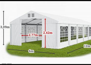 veľkokapacitný montovaný stan, prístrešok, hala, s