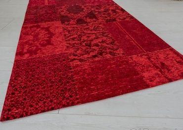Koberec PATCHWORK RED
