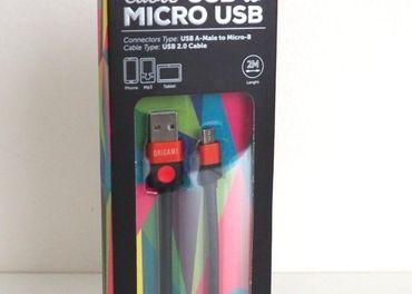 Kábel Micro USB 2m Origami
