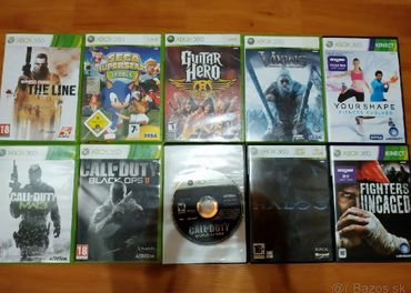 Predám Xbox 360 hry aj na XBOX ONE