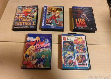 Hry na Sega Megadrive