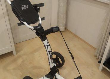 Trojkolesový golfový vozík Axglo TriLite