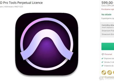 AVID Pro Tools Perpetual Licence 2020