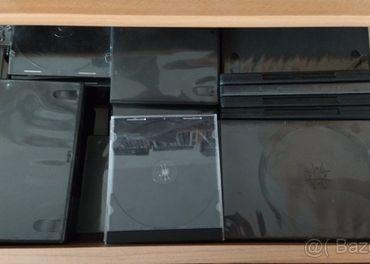 Predám za symbolickú cenu prázdne plastové obaly DVD/CD