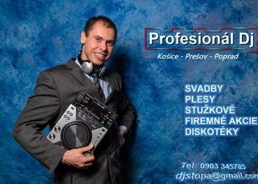 Dj Prešov - Dj na Svadbu Prešov - DJ STOPA - Ing. Peter Tóth
