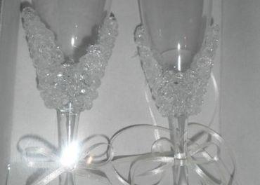 Nové svadobné poháre
