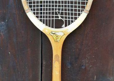 Retro tenisove rakety