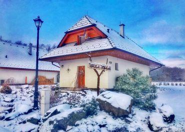 Moderná chatka v tichom prostredí Vysoké Tatry