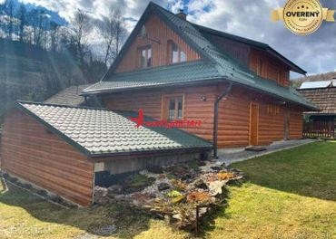 Prenájom - Luxusne zariadená dvoj podlažná chata v oblasti Terchová