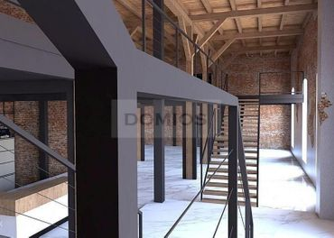 DOMIOS  prenájom admin. a obch. priestorov v polyf. objekte v širšom centre (2.490 m2, parking)