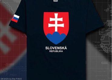 Pánske tričko s logom Slovenská republika