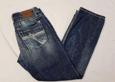 Nové pánske džínsy CAMP DAVID - veľkosť 34/32