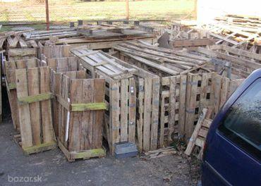 drevo na kúrenie, Mám drevené boxy a palety.
