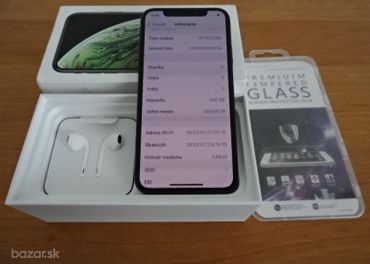 APPLE IPHONE XS 256GB - VELMI DOBRY STAV