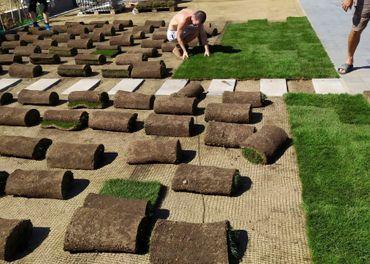 Záhrada, závlaha, trávnik