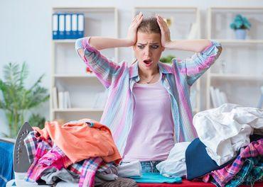 Žehlenie prádla