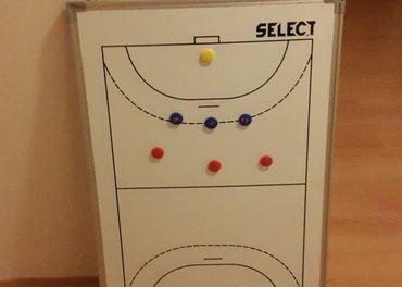 Hádzana - Select - magneticka tabula pre trenera