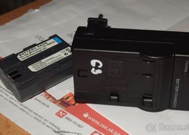 Batéria CANON BP- 511A + nabíjačka - NOVÉ
