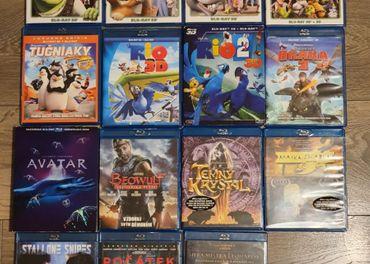 3D BD/BD rozprávky a filmy