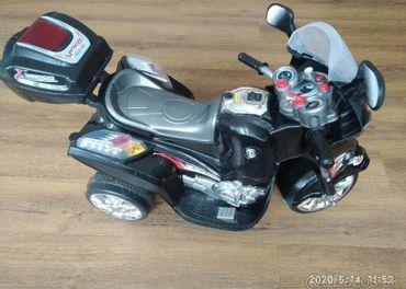 Exkluzivna elektrická motorka pre deti