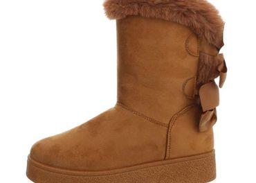 Papuckove cizmy Camel