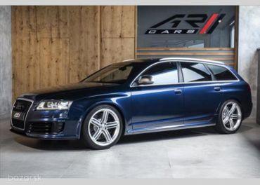 Audi RS6 5,0 MILLTEC VÝFUKY, KARBÓN  BR
