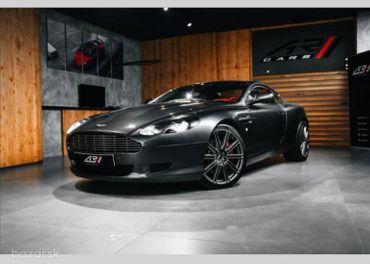 Aston Martin DB9 5,9 V12, NAVI, BIXENON  BR