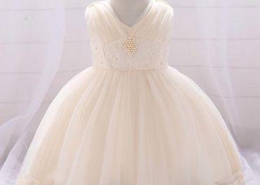 Detské šaty L1835XZ - naša 86, skladom