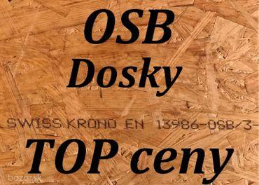 OSB3 dosky KRONO Sviss do exterieru a interiéru