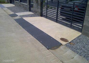 Oceľové rošty na prekrytie kanálov, teras, schodov