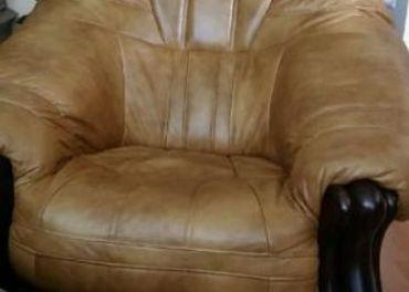 kožená sedacia súprava 2+1