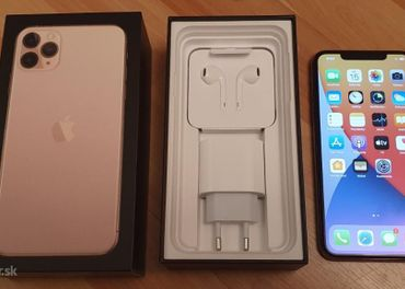 Iphone 11 pro MAX 512GB gold, top stav