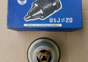 Rýchloupínacie vŕtačkové skľučovadlá B22 UsJ 20