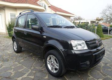4x4  FIAT PANDA 1.2i  4miest, 44kW, 5d