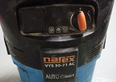 priemyselny vysávač Narex auto čistenie filtra