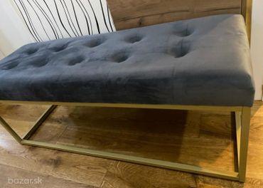 Luxusný taburet