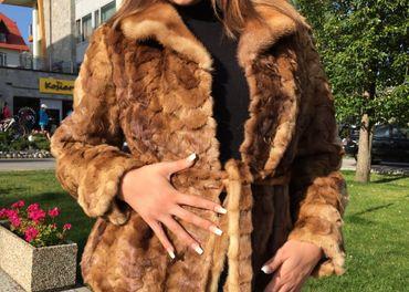 Norkový kožuch Elegance - nový