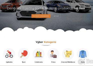 Tvorba webstránok+predaj inzertného a realitného portálu