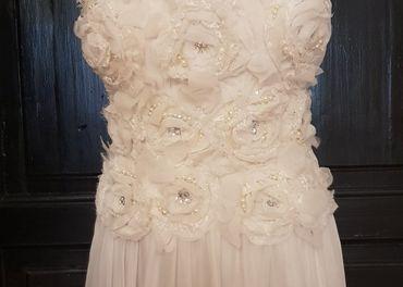 Predám nové spoločenské šaty, vhodné aj ako svadobné