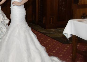 Predám značkové svadobné šaty ALLURE BRIDALS